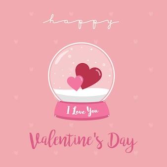 Joyeuse Saint Valentin Vecteur Premium