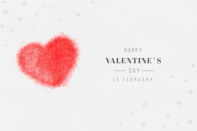 Joyeuse Saint Valentin Vecteur gratuit