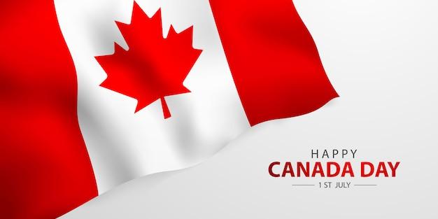 Joyeuses fêtes, festival de la fête nationale du canada conception du drapeau du canada