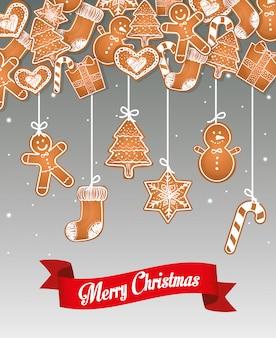 Joyeuses fêtes et joyeux noël design de cartes