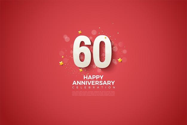 Joyeux anniversaire 60e anniversaire