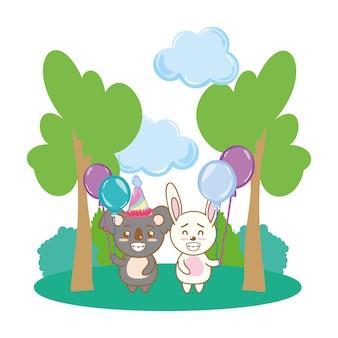 Joyeux anniversaire animaux