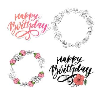 Joyeux anniversaire coloré. anniversaire, anniversaire. bannière de joyeux anniversaire.