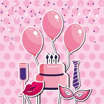 Joyeux anniversaire, style événement