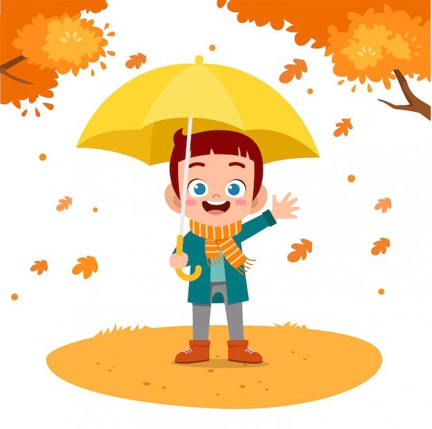 Joyeux automne des enfants