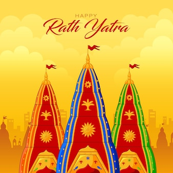 Joyeux festival rath yatra lord jagannath