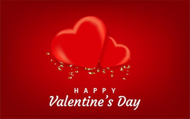 Joyeux fond de saint valentin