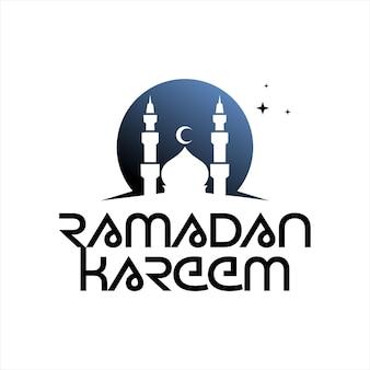 Joyeux fond de vecteur de fête islamique pour ramadan kareem