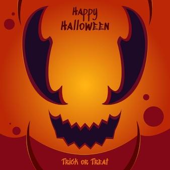 Joyeux halloween des bonbons ou un sort