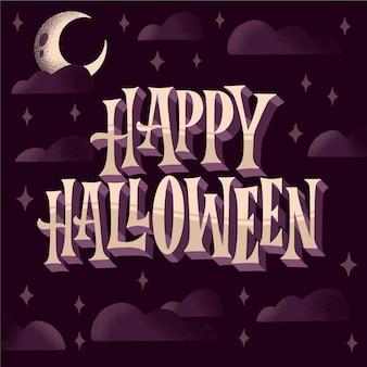 Joyeux halloween - lettrage