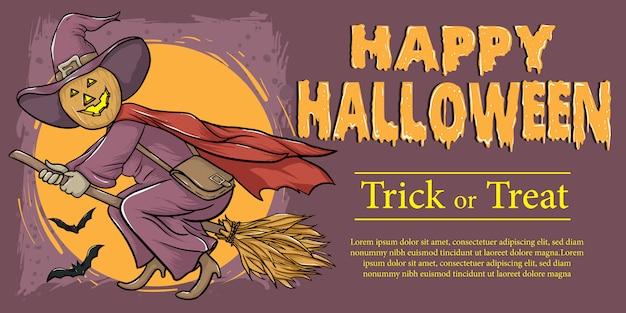 Joyeux halloween trick or treat