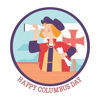 Joyeux jour de columbus