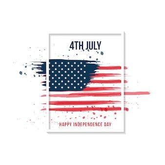 Joyeux jour de l'indépendance. 4 juillet.