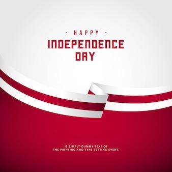 Joyeux jour de l'indépendance de l'angleterre
