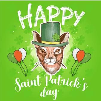 Joyeux jour de saint patrick conçoit