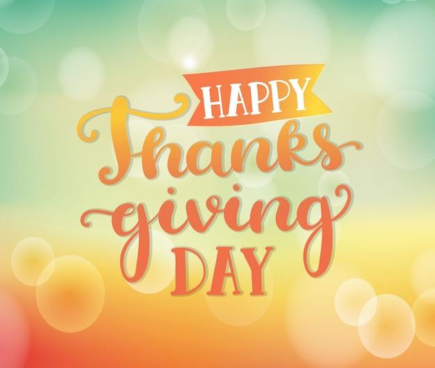 Joyeux jour de thanksgiving.