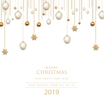 Joyeux noel et bonne année. 2019