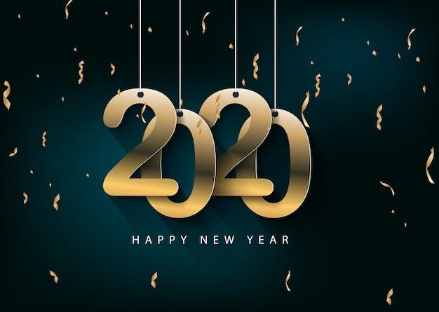 Joyeux noel et bonne année 2020 année du rat