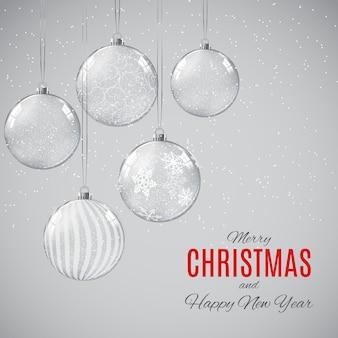 Joyeux noël et bonne année affiches.