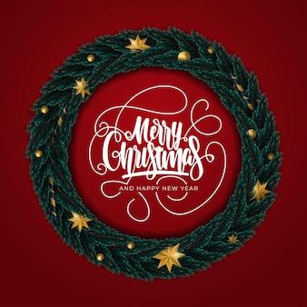 Joyeux noël et bonne année carte de voeux