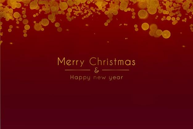 Joyeux noël et bonne année contexte