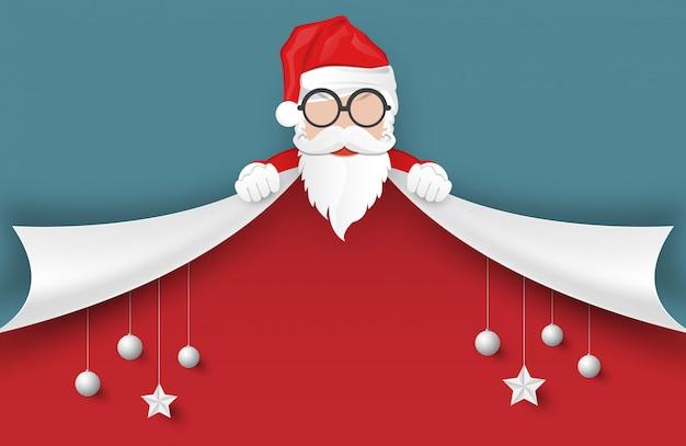 Joyeux Noël Et Bonne Année Fond. Vecteur Premium