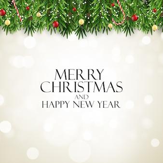 Joyeux noël et bonne année. illustration