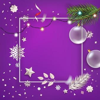 Joyeux noël et bonne année salutations.