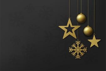 Joyeux Noël et bonne année vector design