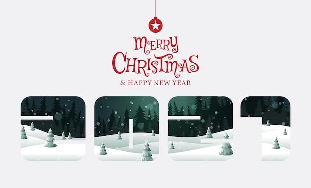Joyeux noël heureuse nouvelle année