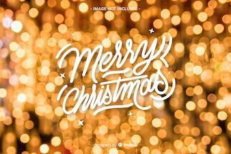Joyeux Noël lettrage