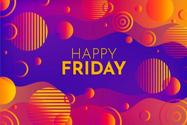 Joyeux vendredi - fond