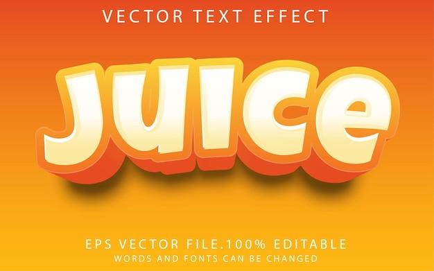 Jus d'effets de texte
