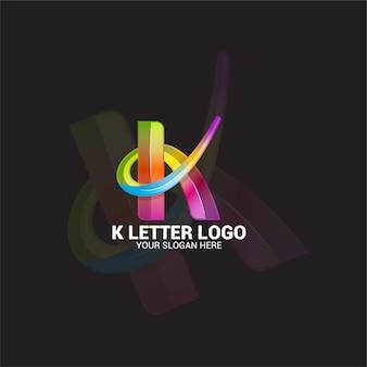 K lettre logo