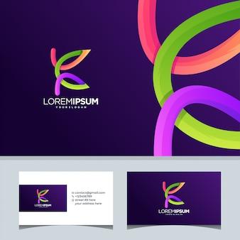 K tech lettre internet initial