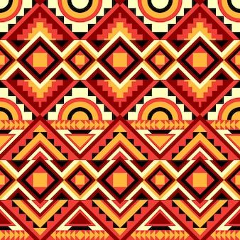 Kaléidoscope abstrait modèle sans couture.