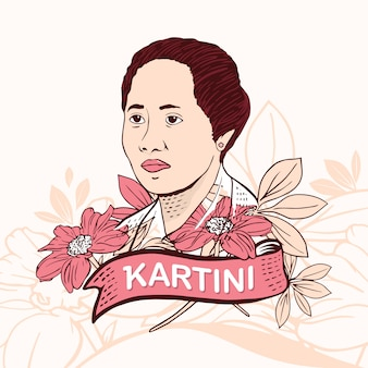 Kartini day hero woman in empowerment