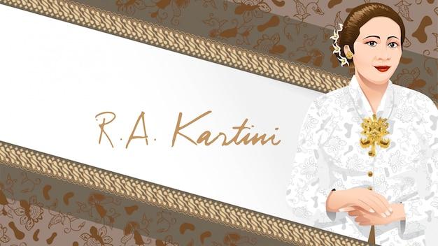 Kartini day, ra kartini, les héros de la femme et du droit humain en indonésie