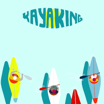 Kayak sports nautiques