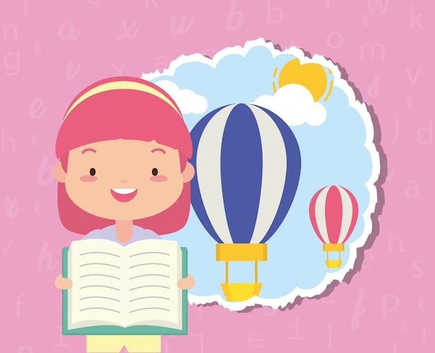 Kid à la journée mondiale du livre