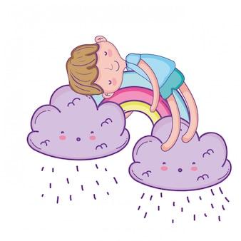 Kid sur les nuages