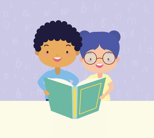 Kids in kid à la journée mondiale du livre