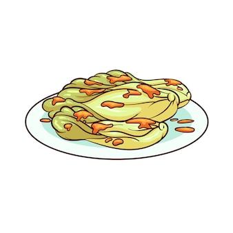 Le kimchi est un aliment typique de la corée