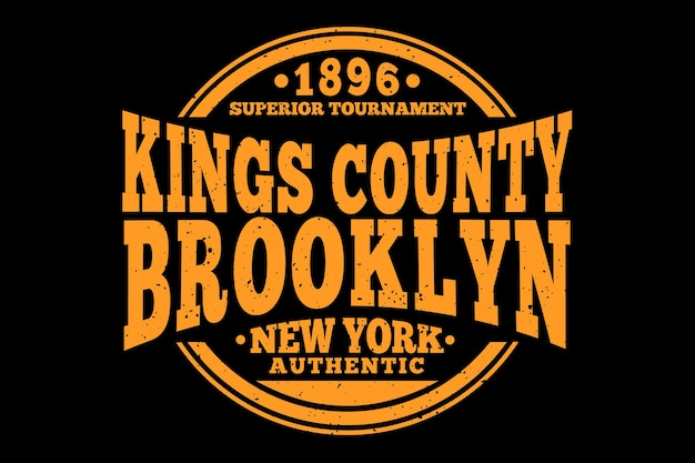 King county brooklyn authentique