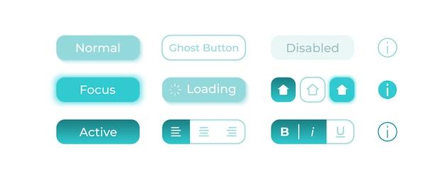 Kit d'éléments d'interface utilisateur de choix