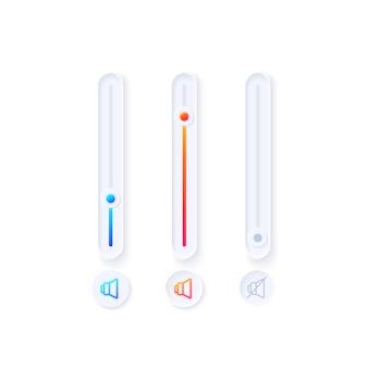 Kit d'éléments de l'interface utilisateur du tuner