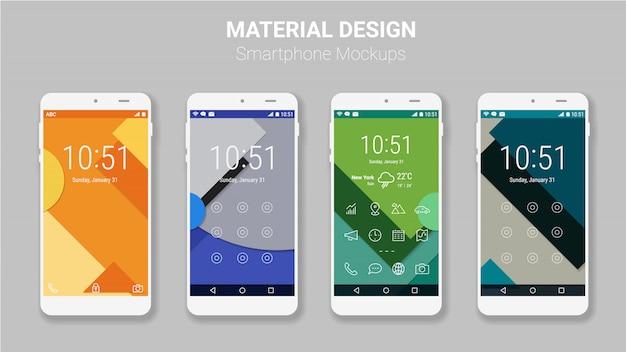 Kit de maquette d'écrans d'interface utilisateur