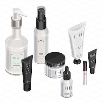 Kit de maquillage isométrique
