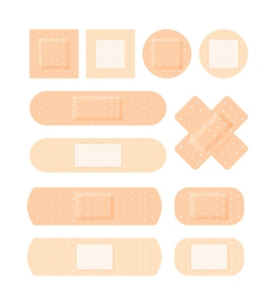 Kit médical en plâtre adhésif