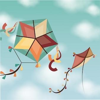 Kite enfance jeu